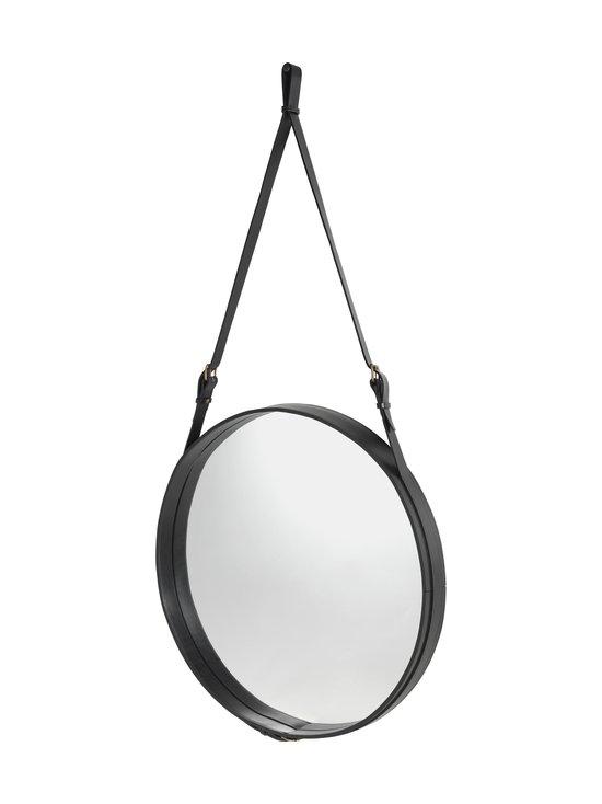 Gubi - Adnet Wall Mirror Circular -peili ⌀ 70 cm - BLACK LEATHER | Stockmann - photo 2
