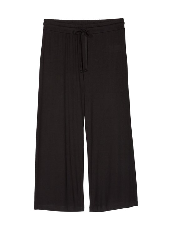 NOOM loungewear - Amanda-pyjama - BLACK SOLID | Stockmann - photo 3