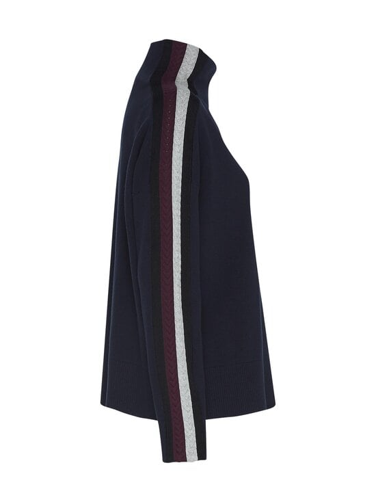 Tommy Hilfiger - Side Stripe Mock-Nk Sweater -neule - DW5 DESERT SKY | Stockmann - photo 3