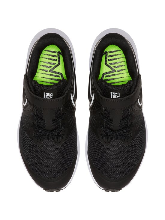 Nike - Star Runner 2 -sneakerit - 001 BLACK/WHITE-BLACK-VOLT   Stockmann - photo 2