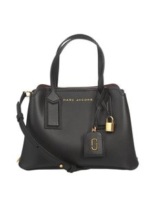 Marc Jacobs - The Editor Crossbody -nahkalaukku - BLACK | Stockmann