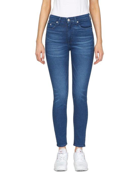 Calvin Klein Jeans - High Rise Skinny -farkut - CA060 MID BLUE | Stockmann - photo 1