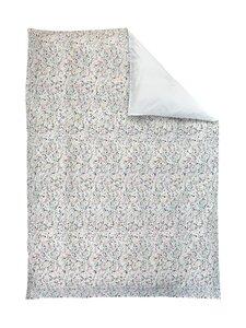 Casa Stockmann - Blomma-pussilakana - WHITE WITH FLOWERS | Stockmann