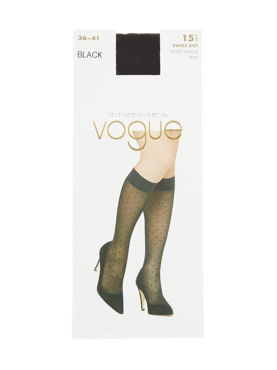 Vogue - Swiss Dot 15 den -polvisukat - BLACK (MUSTA) | Stockmann - photo 1