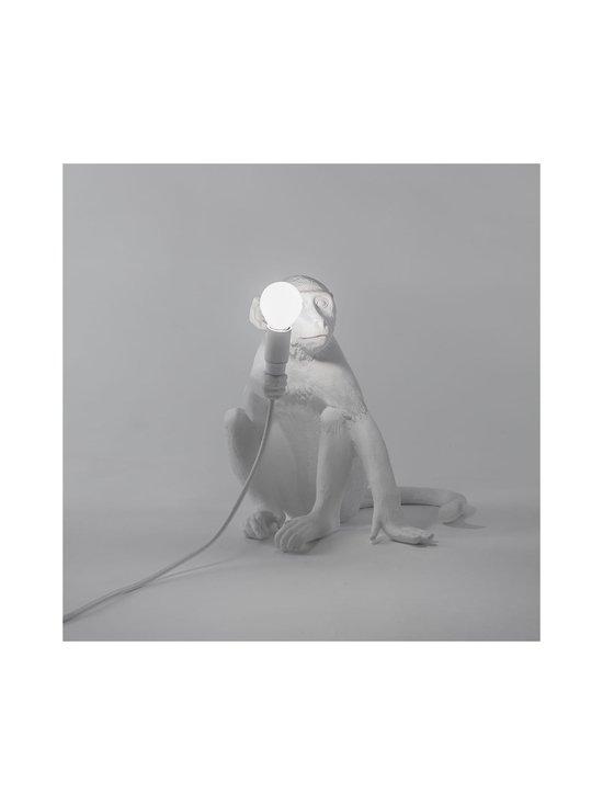 Seletti - Monkey Lamp Sitting -pöytävalaisin - VALKOINEN | Stockmann - photo 2