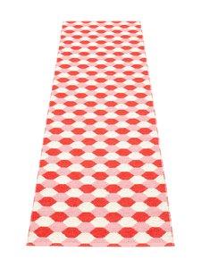 Pappelina - Dana-muovimatto 70 x 250 cm - CORAL RED/PIGLET (KORALLI)   Stockmann