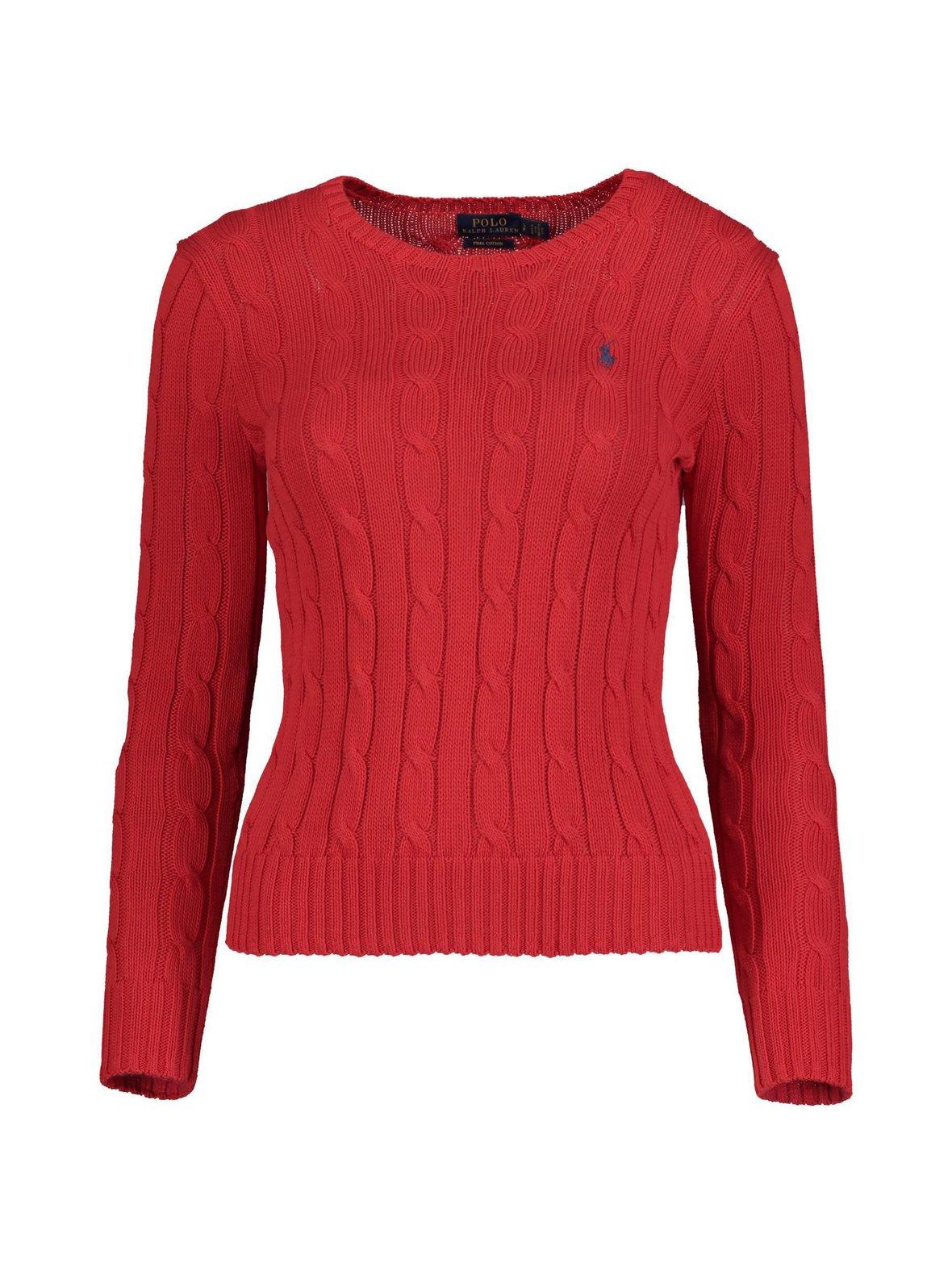 Martin Red (punainen) Polo Ralph Lauren Cotton Classic Cable -neule ... b0d4278d97