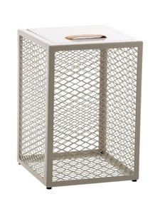 Maze - The Cube -sivupöytä/jakkara - EGG SHELL | Stockmann