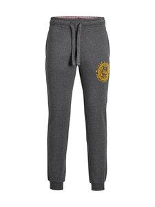 Jack & Jones - JJIGordon JJFLocker Sweat Pants -collegehousut - DARK GREY MELANGE DETAIL:MELANGE | Stockmann