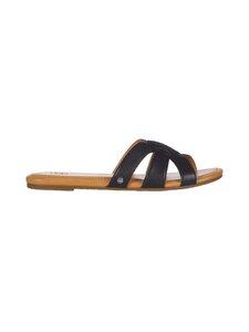 UGG - Teague-sandaalit - BLACK LEATHER | Stockmann