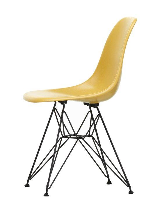 Vitra - Eames DSR Fiberglass -tuoli - 30 BLACK/ LIGHT OCHRE 07 | Stockmann - photo 2