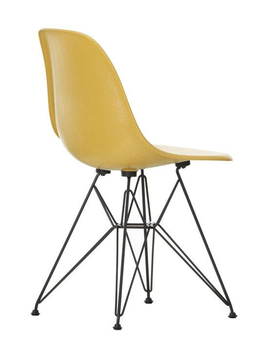 Vitra - Eames DSR Fiberglass -tuoli - 30 BLACK/ LIGHT OCHRE 07 | Stockmann - photo 3