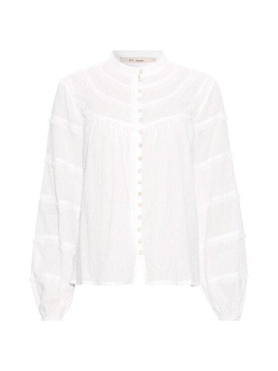RUE de FEMME - Jean shirt -paitapusero - 02 OFF WHITE   Stockmann - photo 1