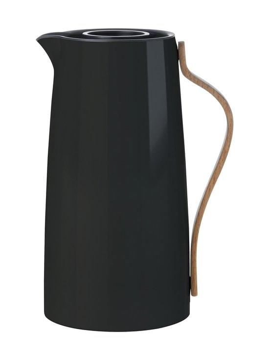 Stelton - Emma-termoskannu 1,2 l - MUSTA | Stockmann - photo 1