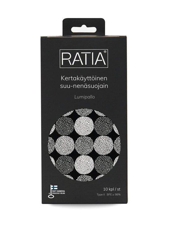 Ratia - Kertakäyttöinen suu-nenäsuojain 10 kpl - LUMIPALLO | Stockmann - photo 1