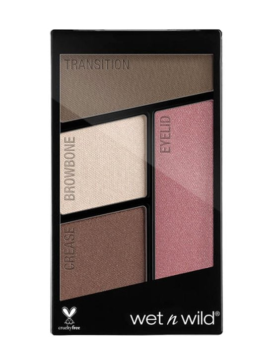 Wet n Wild - Color Icon Eyeshadow Quads -luomiväripaletti - E359 SWEET AS CANDY | Stockmann - photo 1