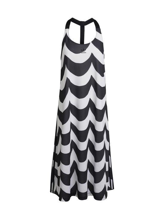 adidas x Marimekko - Tank Dress -mekko - BLACK/WHITE BLACK/WHITE   Stockmann - photo 2