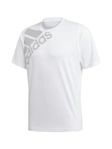 adidas Performance - Freelift Badge Of Sport Graphic tee -treenipaita - WHITE WHITE | Stockmann