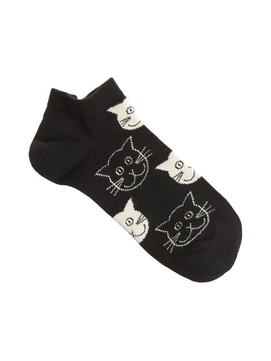 Happy Socks - Cat Low -sukat - 9000 BLACK | Stockmann - photo 1