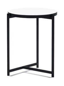 Interface - Pilleri-pöytä 40 cm - VALKOINEN/MUSTA | Stockmann