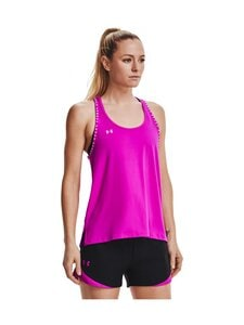 Under Armour - Knockout Tank -treenitoppi - 660 METEOR PINK | Stockmann
