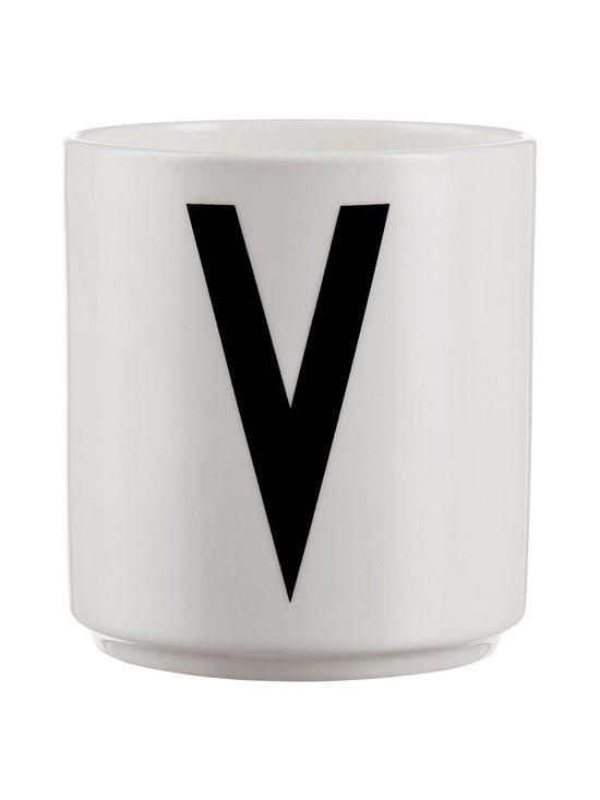 Design Letters - Kirjainmuki, V - VALKOINEN/MUSTA | Stockmann - photo 1