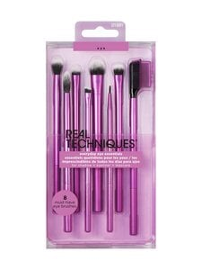 Real Techniques - Everyday Eye Essentials Brush Set -sivellinsetti - null | Stockmann