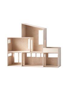 Ferm Living - Miniature Funkis House -nukkekoti - NATURAL | Stockmann