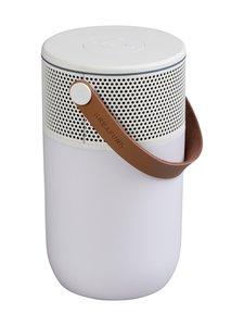 Kreafunk - aGLOW Bluetooth -kaiutin/valaisin - WHITE   Stockmann