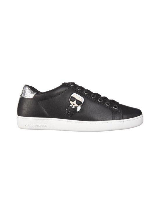 Karl Lagerfeld - K/Ikonik Kupsole -nahkasneakerit - 000 BLACK   Stockmann - photo 1