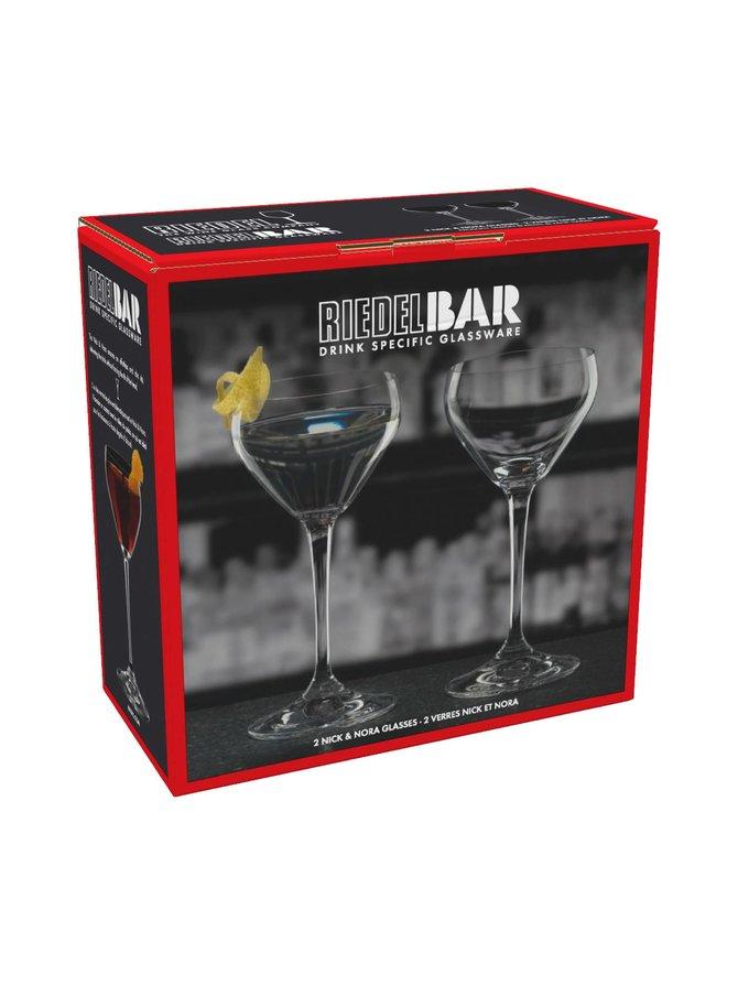 Riedel Bar Nick & Nora -lasi 2 kpl