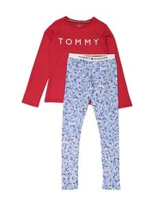 Tommy Hilfiger - Pyjama - 0Y0 MOON BLUE/PRIMARY RED | Stockmann