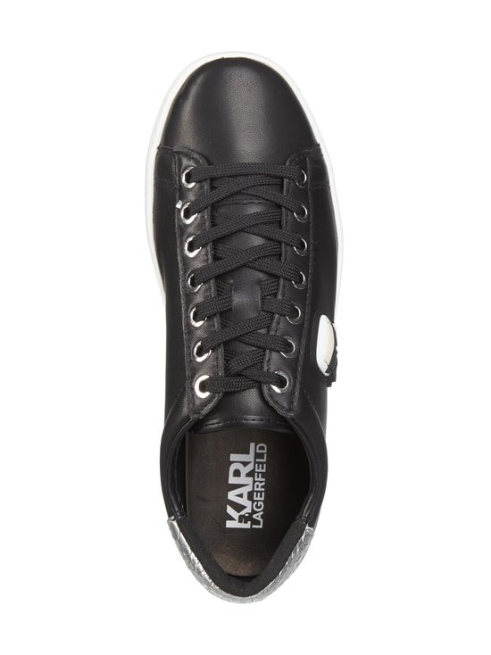 Karl Lagerfeld - K/Ikonik Kupsole -nahkasneakerit - 000 BLACK   Stockmann - photo 2