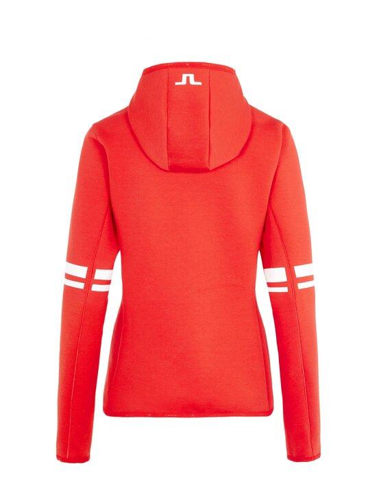 J.Lindeberg - Stripe Hood -huppari - 4300 RACING RED | Stockmann - photo 2
