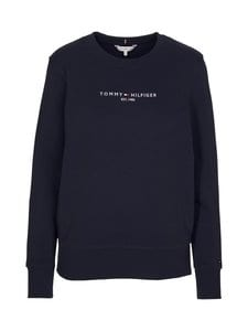 Tommy Hilfiger - Essential Pure Cotton Sweatshirt -collegepaita - DW5 DESERT SKY | Stockmann
