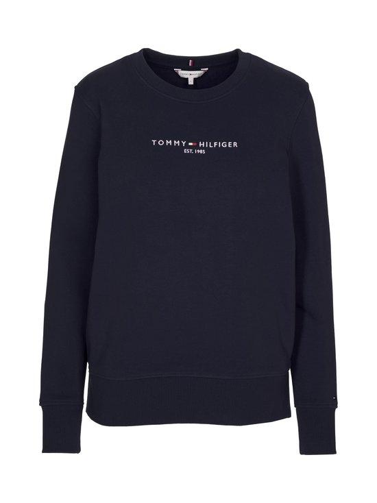 Tommy Hilfiger - Essential Pure Cotton Sweatshirt -collegepaita - DW5 DESERT SKY   Stockmann - photo 1