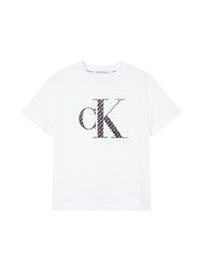 Calvin Klein Jeans Plus - T-paita - 0K6 BRIGHT WHITE/LOGO AOP   Stockmann