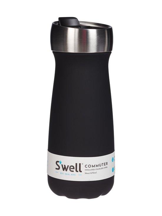 S'well - Commuter-juomapullo 470 ml - BLACK | Stockmann - photo 1