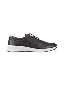 högl - Plain-nahkasneakerit - 0100 SCHWARZ | Stockmann