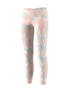 adidas Originals - leggingsit maalauskuviolla - PNKTIN/MULTCO | Stockmann