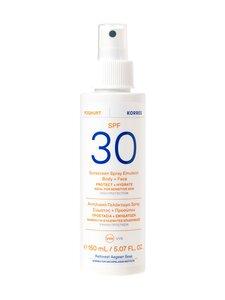 Korres - Yoghurt Face&Body Spray Emulsion SPF30 -aurinkosuojaemulsio 150 ml | Stockmann