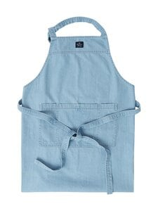 Lexington - Light blue Denim Washed Cotton Apron -esiliina - LIGHT BLUE | Stockmann