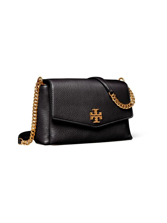 Tory Burch - Kira Pebbled Small Convertible Shoulder Bag -nahkalaukku - BLACK | Stockmann - photo 2