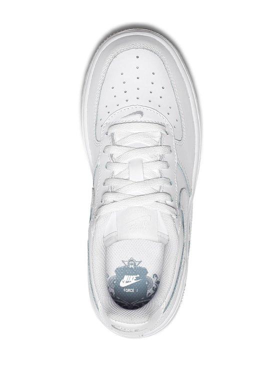 Nike - Air Force 1 -nahkasneakerit - WHITE/WHITE/WHITE (VALKOINEN) | Stockmann - photo 2
