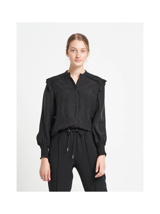 BRUUNS BAZAAR - Sianna Elenera Shirt -pusero - BLACK   Stockmann - photo 4