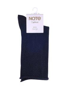 Note - Kiristämättömät villasekoitenilkkasukat - NAVY   Stockmann
