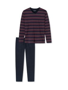 Schiesser - Pyjama - 803 803 DARK BLUE | Stockmann