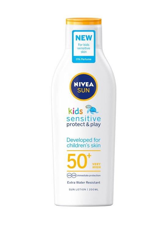 NIVEA - Sun Kids Sensitive Protect Play Sun Lotion SPF 50+ -aurinkosuojavoide 200 ml - NOCOL | Stockmann - photo 1
