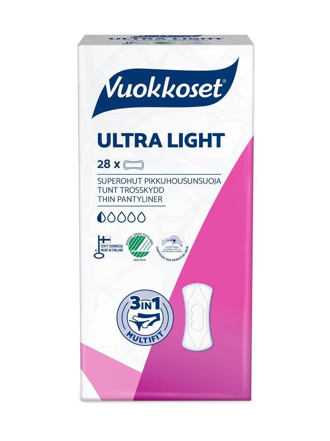 Ultra Light -pikkuhousunsuoja 28 kpl