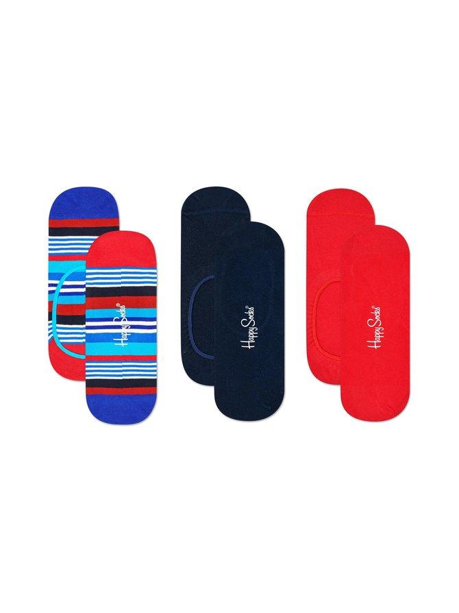 Multi Stripe Liner -sukat 3-pack